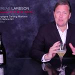 Andreas Larsson déguste l'Esprit Nature 100% Chardonnay